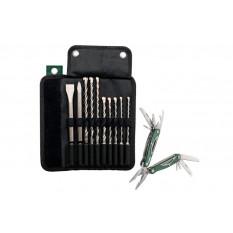 Комплект бурів та зубил SDS plus Pro4 - 10 шт включаючи мультитул