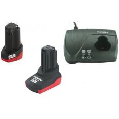 Набір аккумуляторних батарей 10,8В 1х2,0 Аг та 1х5,2 Аг + ЗП LC-40