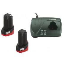 Набір аккумуляторних батарей 10,8В 2х2,0 Аг + ЗП LC-40