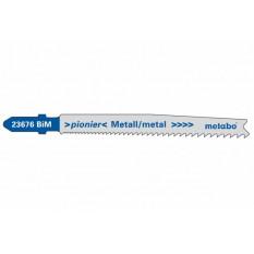 Пилочка для лобзика T123X 5 шт. по ст.та кольоровим металам, 74мм