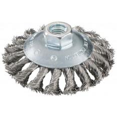 Круглая щетка плетеная Metabo Ø 100 мм, выгнутая