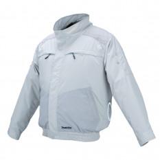 Аккумуляторная куртка с вентиляцией и плечевыми накладками Makita DFJ 405 ZS