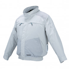 Аккумуляторная куртка с вентиляцией и плечевыми накладками Makita DFJ 405 ZXL