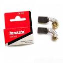 Угольные щетки(комплект 2 шт.) CB - 303 Makita (Макита) оригинал 191963-2
