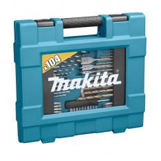 Комбинорованный набор сверл и бит Makita 104 шт (D-31778)