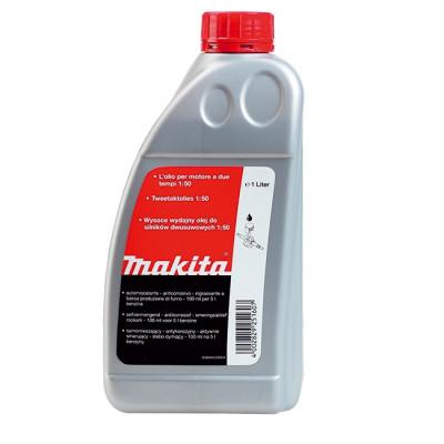 Мастило для 2-тактного двигуна 1:50, 1 л Makita (Макита) оригинал 980008607