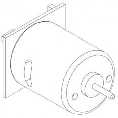 Электродвигатель для фена DWT HLP15-550/20-550 оригинал 163136