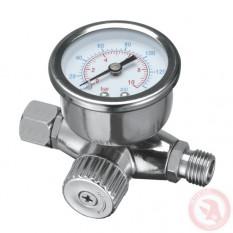 Регулятор давления воздуха для пистолетов покрасочных, профессиональный 1/4 INTERTOOL PT-1423