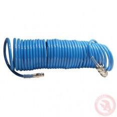 Шланг спиральный полиуретановый 5.5*8мм, 15м Intertool