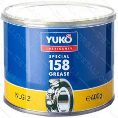 Смазка YUKO №158 (NLGI 2) 0,4кг банка 0,5л жесть