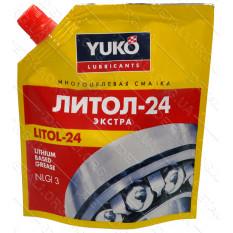 Смазка YUKO Литол-24 дой-пак 150гр ПЕ
