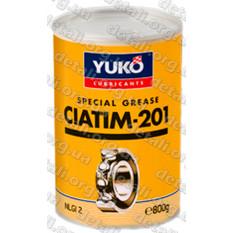 Смазка YUKO ЦИАТИМ-201 0,8кг банка 1л жесть