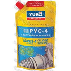 Смазка YUKO ШРУС-4 (NLGI 2, ЕР 2) дой-пак 375гр ПЕ
