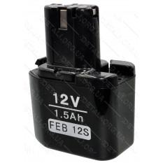 Аккумулятор шуруповерта Hitachi узкий 4 контакта FEB12s 12V 1.5Ah