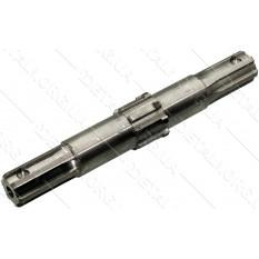 Вал вторичный редуктора фрезы мотоблока 195N (12Hp) 6 шлицов d35 268