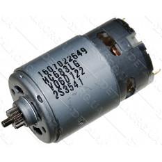 двигатель шуруповерт Bosch GSR 14,4-2-LI (D38, L по валу 76, вал d3, шестерня 13 зубов) оригинал 260