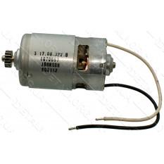 Двигатель шуруповерта 12V Metabo BSZ-12 оригинал 317003220 (d44 Lвала 91 шестерня 18 зубов d14)