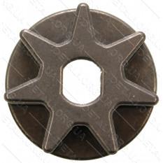 звездочка пилы 7 лучей тарелка овал 9мм d35 h12