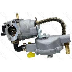 Карбюратор м/б 168F/170F (6,5/7Hp) (с газовым редуктором)