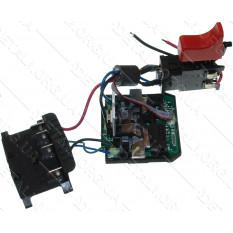 кнопка + модуль управления шуруповерт Bosch GSR 1800 Li (замена 2609199464) оригинал 2609199616