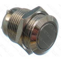 кнопка антивандальная d18mm резьба 16mm h21mm 2 положения 2 контакта