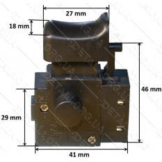 Кнопка сетевого шуруповерта Арсенал Ш-600
