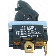 Кнопка фрезера Makita RP1800F / RP2300FC оригинал651432-0