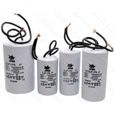 конденсатор JYUL 120мкф - 450 VAC провода (60*120 mm)