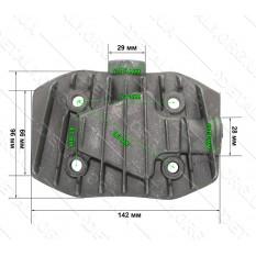 крышка блока цилиндров компрессора средняя