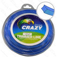 Леска триммера 1.3 мм квадрат 1 LB