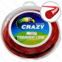 Леска триммера 1.3 мм круг 1 LB (298 м)