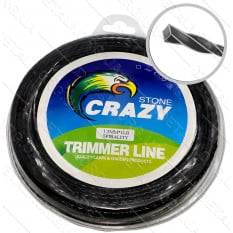 Леска триммера 1.3 мм спираль 1 LB