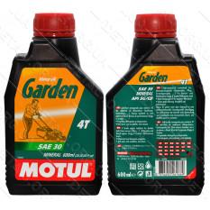 Масло для 4-х тактных двигателей MOTUL GARDEN 4T SAE 30 0.6л