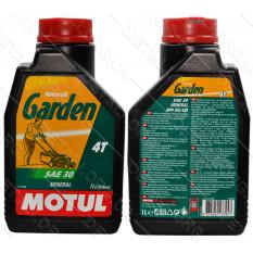 Масло для 4-х тактных двигателей MOTUL GARDEN 4T SAE 30 1л