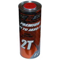 Масло для двухтактных двигателей REZER 2T ж/б 1L