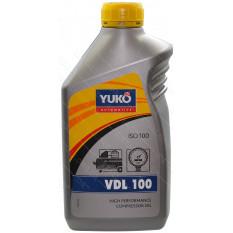 Масло компрессорное Yuko 1л VDL 100