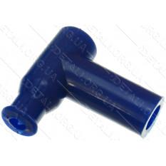 насвечник T-образный 90° синий длинный
