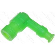 насвечник Г-образный 90° зеленый