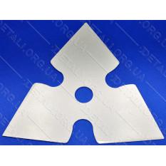 Нож - диск для мотокосы 3-х лучевой 3T пикообразный d25,2*214