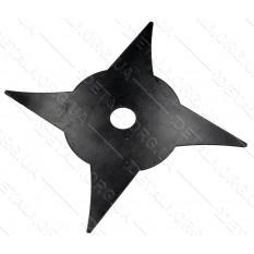 Нож - диск для мотокосы 4-х лучевой 4T d25,2*250