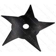 Нож - диск для мотокосы 5-ти лучевой 5T звезда d25,2*240