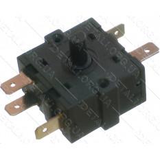 переключатель масляного радиатора 3 положения 5 контактов 32*32mm 16A