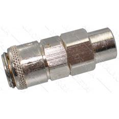 Переходник компрессора внутренняя резьба 1/4 - быстросъем 11мм