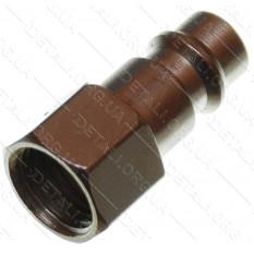 Переходник компрессора внутренняя резьба 1/4 - штуцер под быстросъем