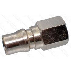Переходник компрессора внутренняя резьба 1/4 - штуцер под быстросъем 11мм