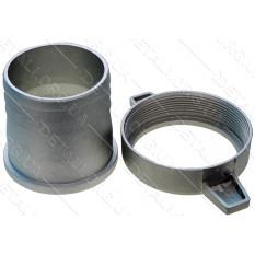 Переходник мотопомпы с фланца на шланг d72mm №3 (алюминевый)