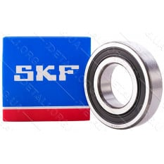 подшипник 606 RS SKF (6*17*6) резина