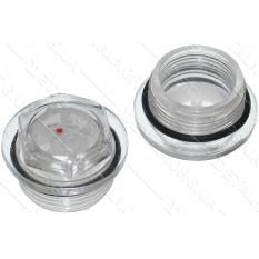 Показатель уровня масла в компрессоре  d 27 mm пластик