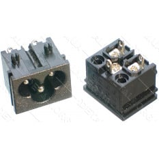 разъем (штекер) сетевой 3 контакта