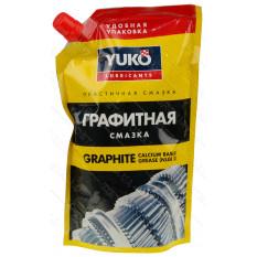 Смазка для редуктора графитная YUKO 375 мл